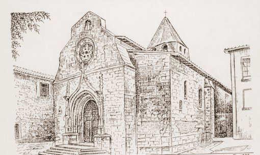 Eglise casseneuil - Eglise dessin ...